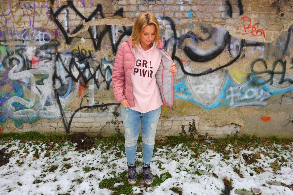 Pink steht für Girl Power
