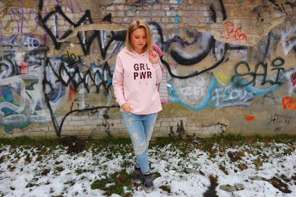 Rosa steht für Girl Power