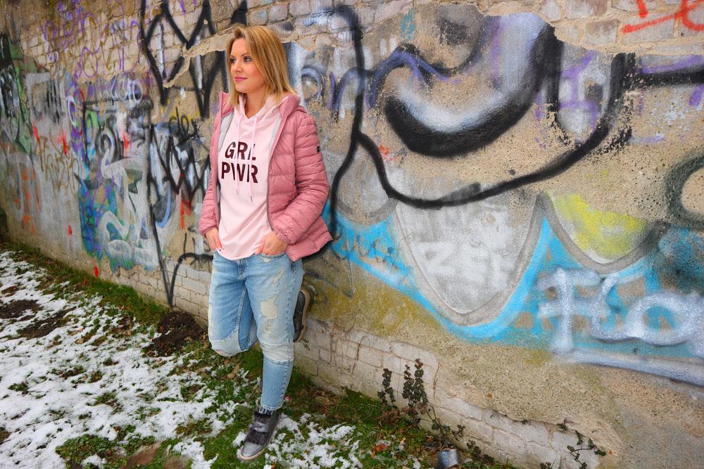 Pink steht für Frauenpower
