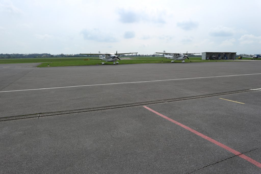 Der Lipödemtag am Mülheimer Flughafen