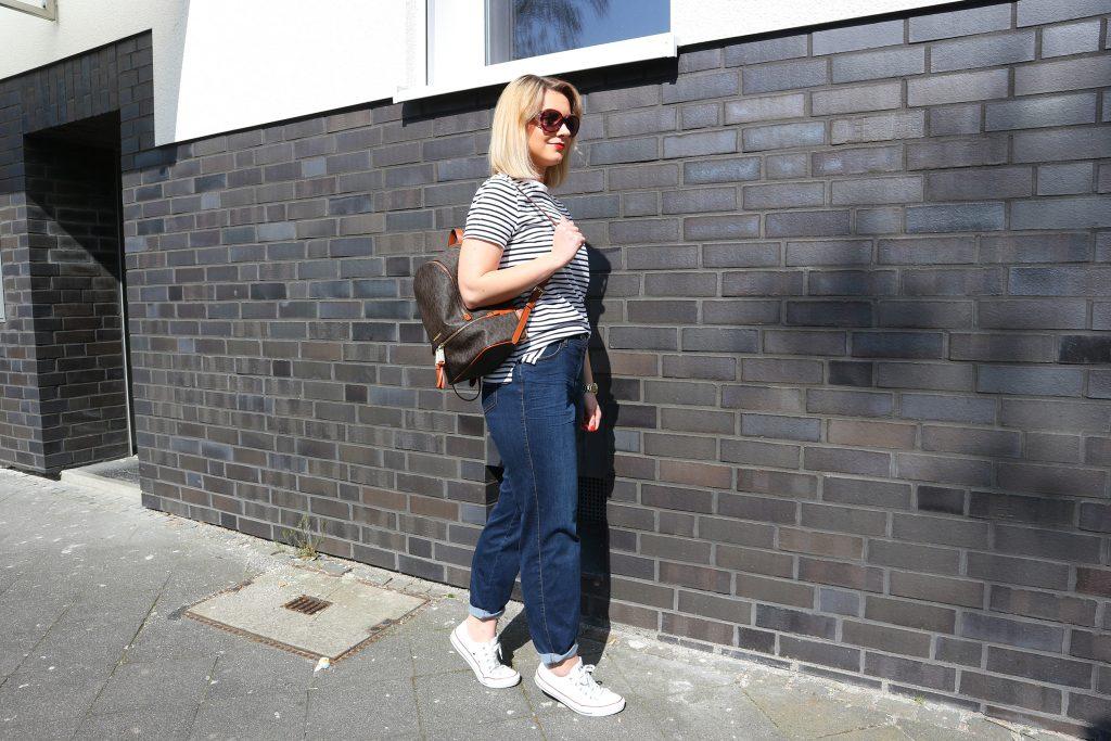 Ein Look mit der Jeans Lily Super Slim Powerdenim