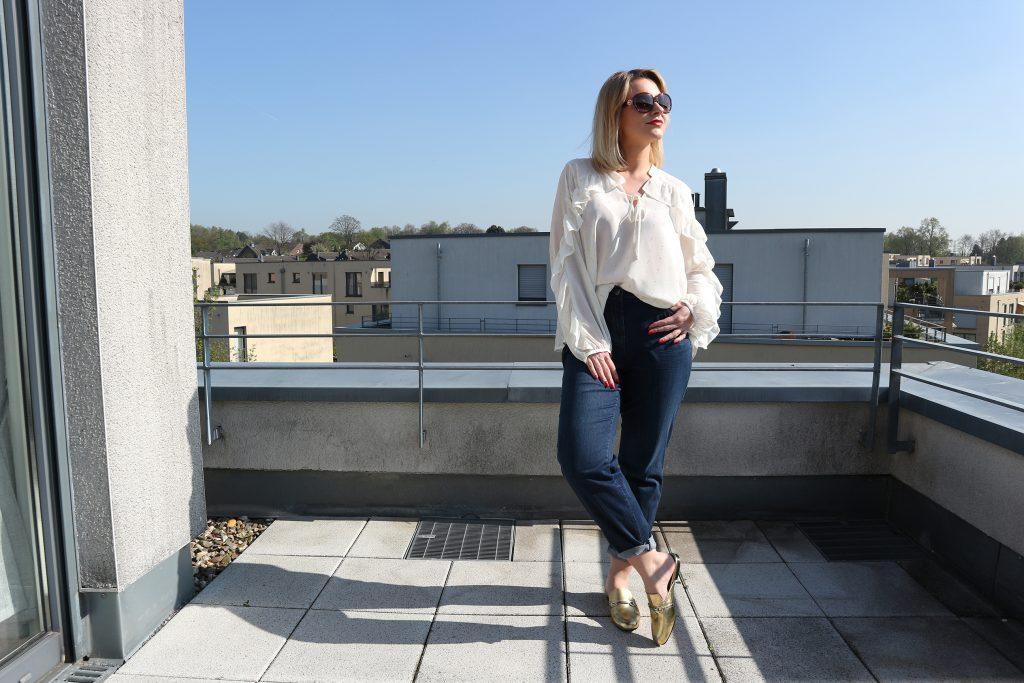 Ein Outfit mit der Lily Super Slim von Luna Largo