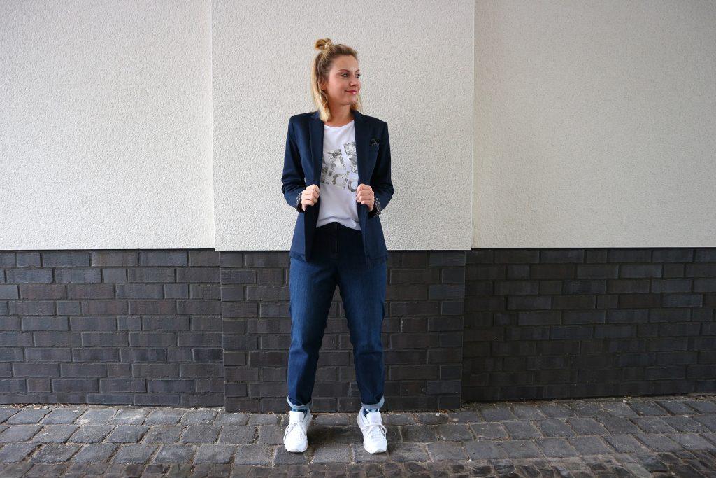 Ein Outfit mit der Jeans von Luna Largo