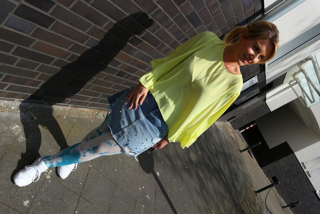 Ein Outfit mit Rundstrick von Juzo