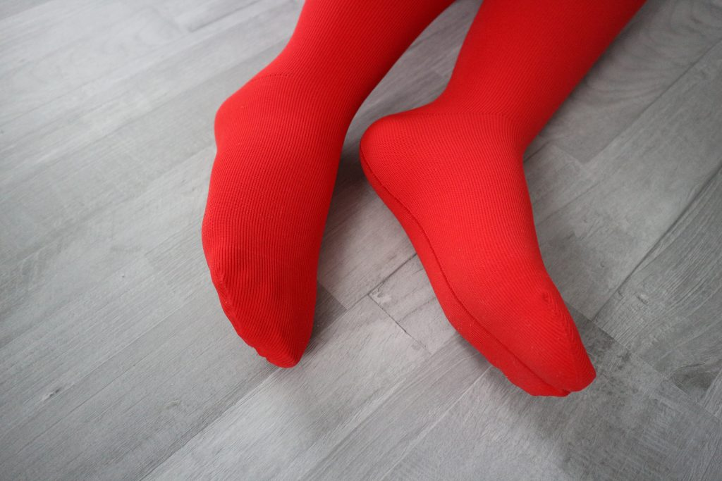 Juzo Expert in Happy Red